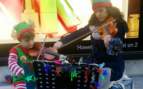 Christmas busker, 7, makes £500 to buy himself an Xbox - Telegraph.co.uk   TOP STORIES   Scoop.it