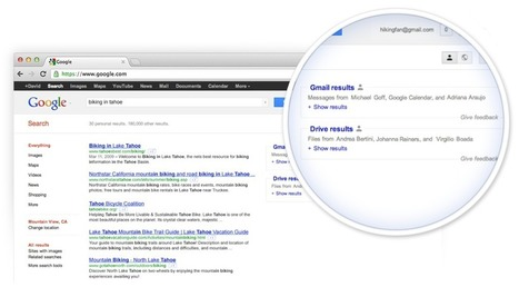 Google Users Get Simultaneous Search of Email, Docs and Calendar - Social Times (blog)   desktop liberation   Scoop.it