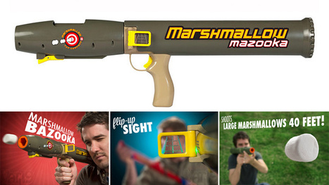 Enjoy Marshmallow Superiority With This Air-Compressed Bazooka | DigitalWorld | Scoop.it