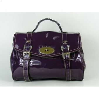 Fashional Mulberry Alexa Bag Patent Leather Purple sale | Discount Mulberry Bags Outlet | Scoop.it