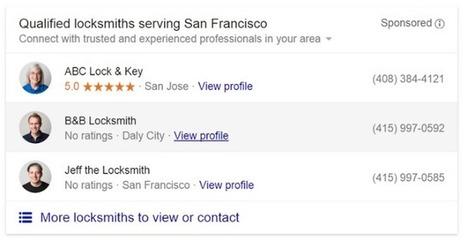 Google Adwords teste un nouveau format d'annonces pour les services à domicile - #Arobasenet.com   Référencement internet   Scoop.it