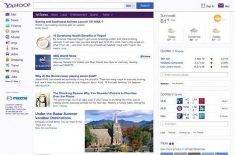 Yahoo! intègre Twitter à ses résultats et pourrait racheter Tumblr | Réseaux sociaux | Scoop.it