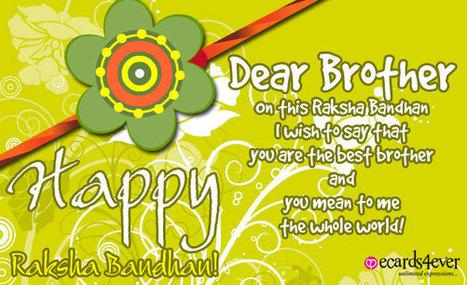 Raksha Bandhan Greting, e-cards | results | Scoop.it