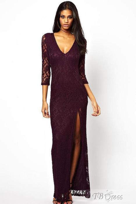 Wonderful Hot Selling Asymmetric Hem Slim Dress | beauty&fashion clothing | Scoop.it