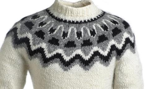 """Вяжем исландский свитер """""""