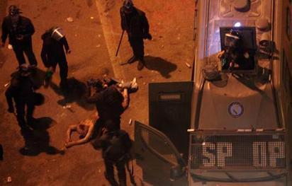 Crise politique: La police égyptienne continue de frapper à l'aveugle | Égypt-actus | Scoop.it