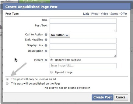 How to Use Facebook Dark Posts | Grow hack | Scoop.it