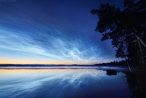 14 juillet : nombreux nuages #noctulescents en nord Europe #Riga #Danemark... | Arctique et Antarctique | Scoop.it