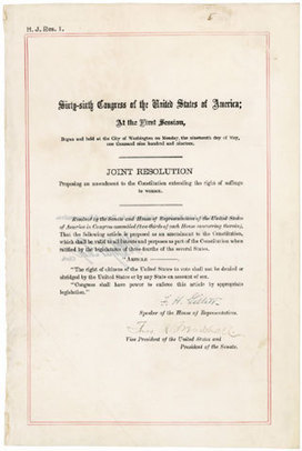 19th Amendment: Women's Suffrage | History and Social Studies Education | Scoop.it