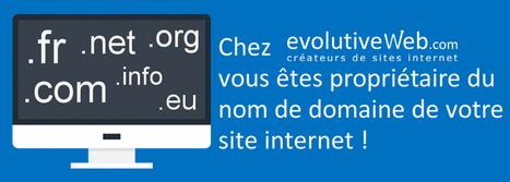 Chez evolutiveWeb.com vous êtes propriétaire du nom de domaine de votre site internet - Actualités - evolutiveWeb.com | Actus de l'agence, infos et conseils en e-communication et entrepreunariat | Scoop.it