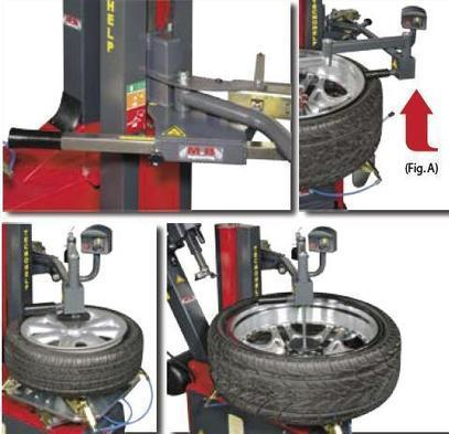 BulletPro Made in Italy TC528IT Tyre Changer with Right Assisting Arm | Branded Garage Equipments in Australia | Scoop.it