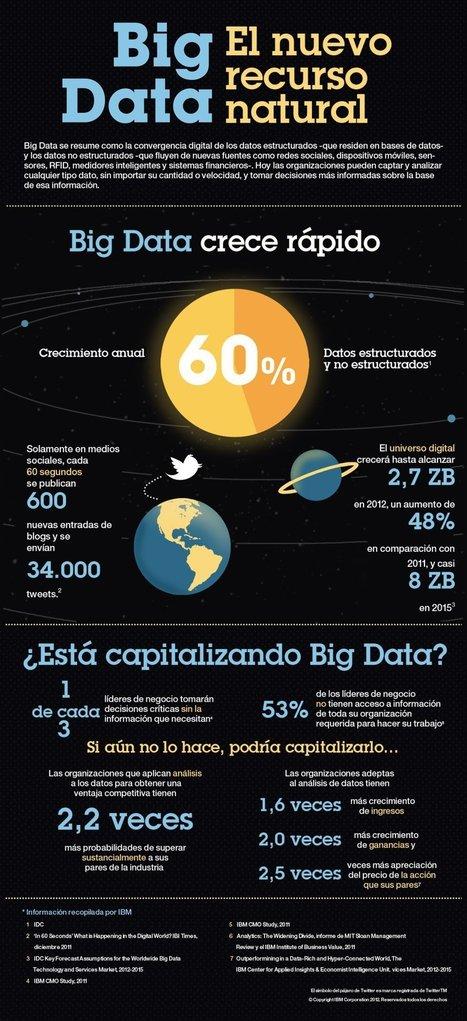 Big Data: el nuevo recurso natural #infografia #infographic #internet | Las TIC y la Educación | Scoop.it