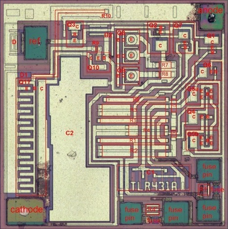 Reverse-engineering the TL431: the most common chip you've never heard of | Raspberry Pi | Scoop.it