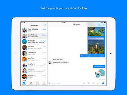 Facebook Messenger débarque sur iPad ! (+ quelques mises à jour) | social media | Scoop.it