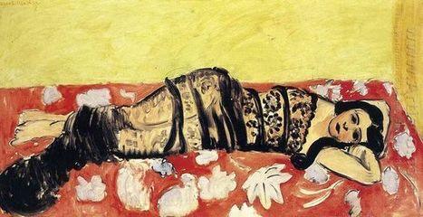 Odalisque d'huile - Peinture à l'huile | famous paintings gallery | Scoop.it