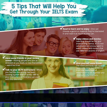 5 Tips That Will Help You Get Through Your IELTS Exam | IELTS Writing Test Tips and Training | Scoop.it