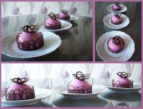 Entremet chocolat blanc et fraises – Recettes de desserts, Recettes ...   Dangrou   Scoop.it