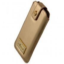 Luxus Leder Tasche Gold für Samusng Galaxy S3 I9300 Saffiano Leather von GLÖÖCKLER     tablet zubehör   Scoop.it