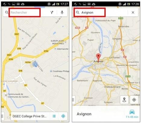 Tutoriel : consulter une carte Google Maps hors connexion sur son mobile   Time to Learn   Scoop.it