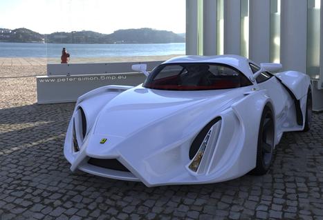 Ferrari Enzo by Peter Simon | Art, Design & Technology | Scoop.it