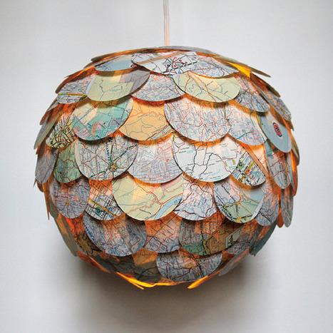 Diseño de interiores: Hermosas lamparas colgantes por Allison Patrick - Frogx.Three | lámparas | Scoop.it