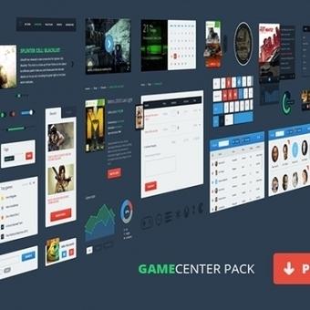 Games Ui Pack Psd - Psd Files - GFXNERDS | gfxnerds | Scoop.it