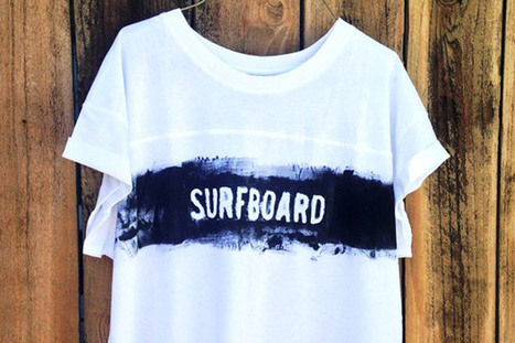 How to Make Screen Printed T-Shirts for Your Summer Attire | Eye Spy DIY | Scoop.it