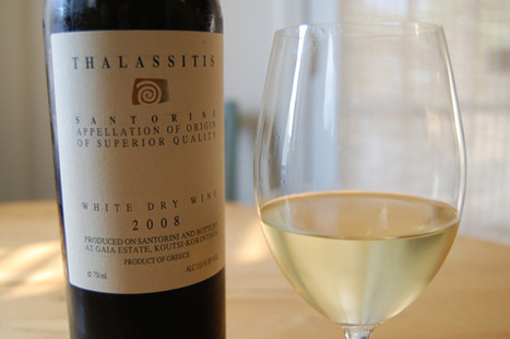 Wine of the Week: The Aegean Sea in a Glass | Vitabella Wine Daily Gossip | Scoop.it