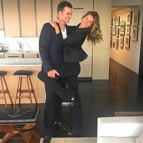 Gisele Bündchen Shares a Sweet Photo of Her Date Night with Husband Tom Brady | CelebNest | celebrities | Scoop.it