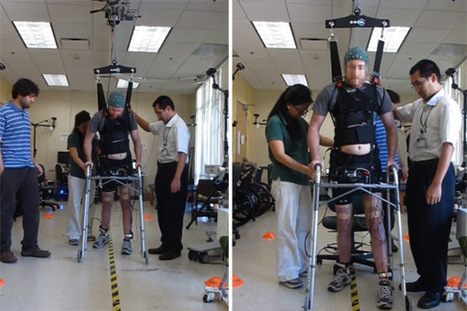 Paralysed man uses mind control to walk again | New Scientist | Stretching our comfort zone | Scoop.it