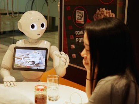 Pizza Hut has employed a robot waiter | Public Relations & Social Media Insight | Scoop.it