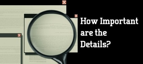 How Important are the Details? | Storytelling & Presentations | Scoop.it