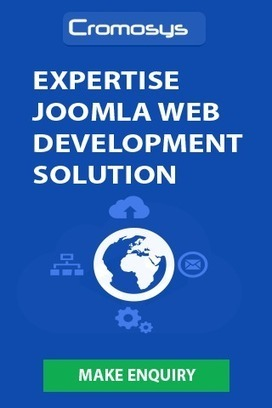 Cromosys offering Outsourcing Solution for Joomla based Website Design ... - WhaTech | Web Development Company | Scoop.it