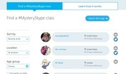 What is Mystery Skype? 7 steps to get started!   Mr Kemp   Edtech PK-12   Scoop.it