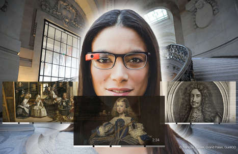 Proably the best way to discover Google Glass : renting one at the Velasquez Exhibition in Paris | Wearable computing, wearable connected objects | Scoop.it