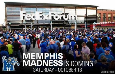 "Memphis Tigers on Twitter: ""Time to mark your calendars fans! We officially have a date for Memphis Madness this year! #GoTigersGo http://t.co/ncrwKUNS68"" 