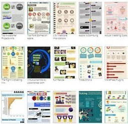 Quatre sites pour créer gratuitement des infographies | Web Tools and Resources for Learning and Working | Scoop.it