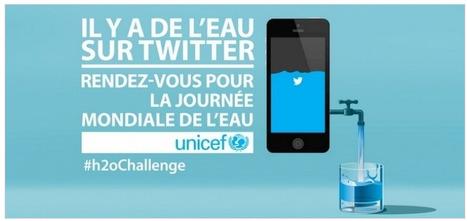 L'Unicef collecte de l'eau sur Twitter avec Publicis | Non profit and fundraising | Scoop.it
