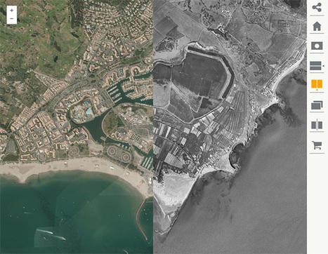 Remonter le temps : observer les évolutions du territoire au cours du temps - IGN | Usages numériques et Histoire Géographie | Scoop.it