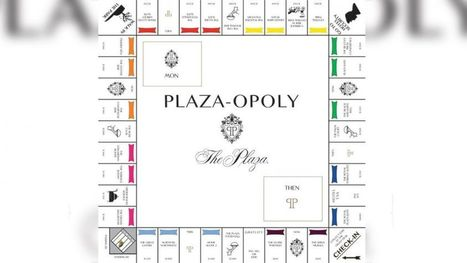 New 'Plaza-opoly' Board Game Inspired by Iconic Hotel | Tourism Social Media | Scoop.it