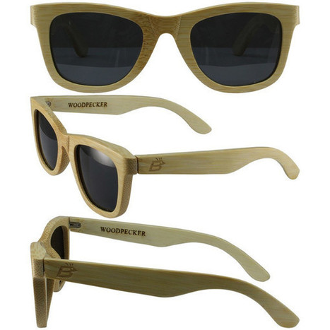 Bamboo Wayfarer, Naturally Floating Polycarbonate Lens Sunglasses Sustainable | homeschooling | Scoop.it