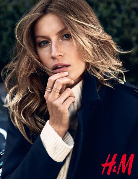 Gisele Bündchen : nouvelle égérie H&M | Mass marketing innovations | Scoop.it