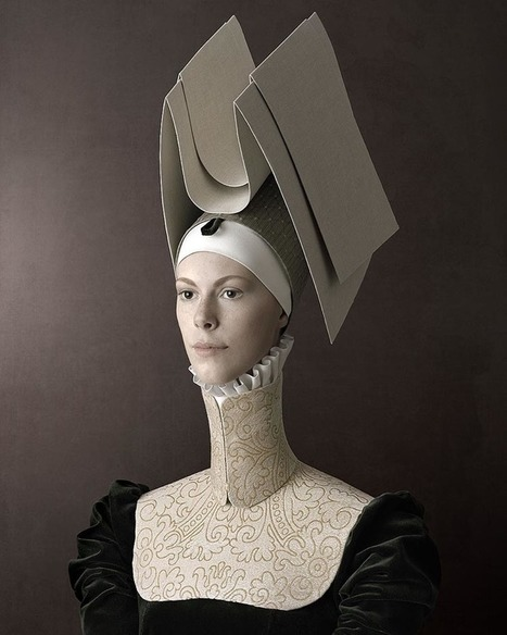 Delightfully unsettling portrait photos inspired by Renaissance portraiture | Communication design | Scoop.it