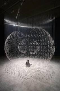 Présentation de l'exposition et de l'installation Claire Morgan : Les musées d'Angers | Textile Horizons | Scoop.it