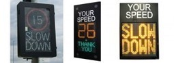 The Need for Speed…Awareness! Vehicle Activated Speed Signs - Messagemaker Blog | Transport Signage | Scoop.it