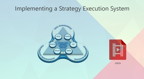 How to Implement a Strategy Execution System - webinar | Strategy Execution | Scoop.it
