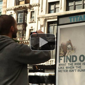 "REI ""Find Out NYC"" Augmented Reality Ads 