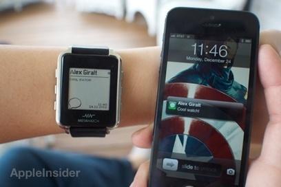 Les premières montres connectées à l'iPhone arrivent | Belgitude | Scoop.it