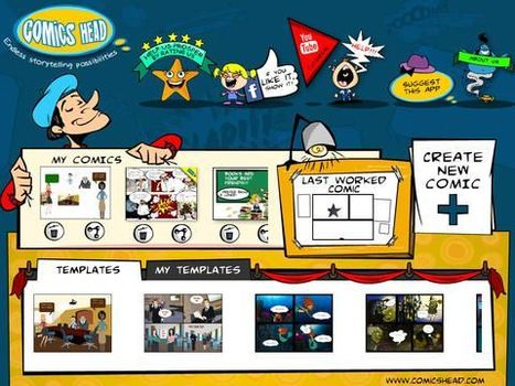 Comics Head - for web, iOS and Android | Comicsforkids | Scoop.it