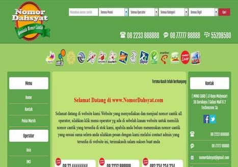 Website nomor cantik   Website Nomor Cantik   Scoop.it